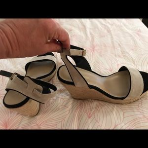 Saks wedge sandal